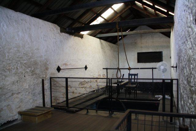 Fremantle Prison gallows - Kojach via flickr CC BY-NC 2.0