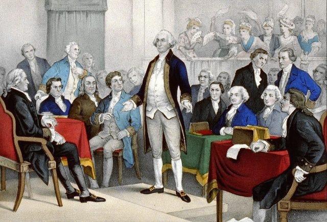 George Washington - unknown artist via wikipedia public domain