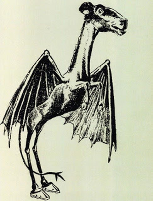Jersey Devil via wikipedia public domain