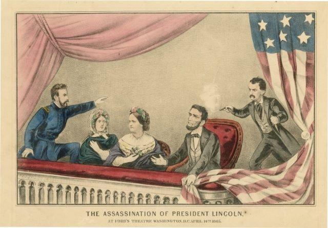 Lincoln's assassination via metmuseum.org public domain