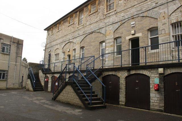 Shepton Mallet Prison - Rodw via commons.wikimedia CC BY-SA 4.0
