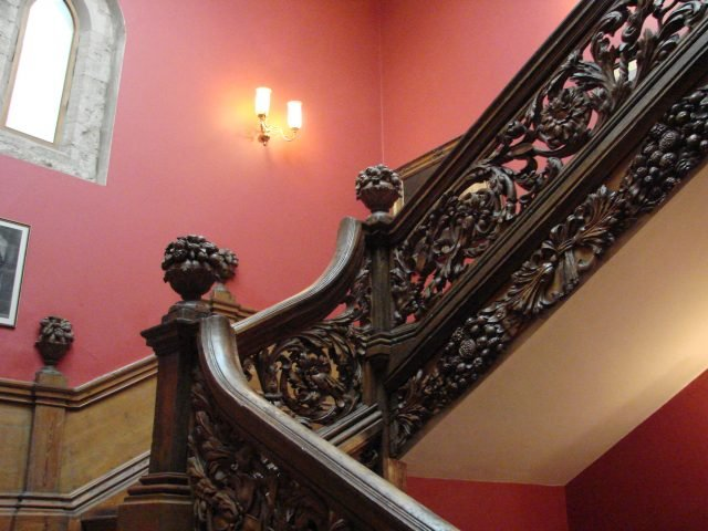 Staircase Hinchinbrooke House - Kevin Spencer via flickr CC BY-NC 2.0