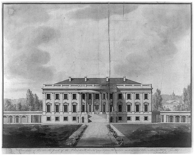 The White House 1817 - Picryl