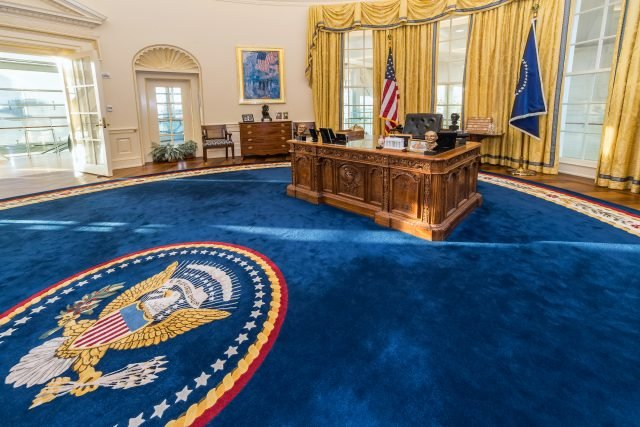 The White House Oval Office - shutterstock