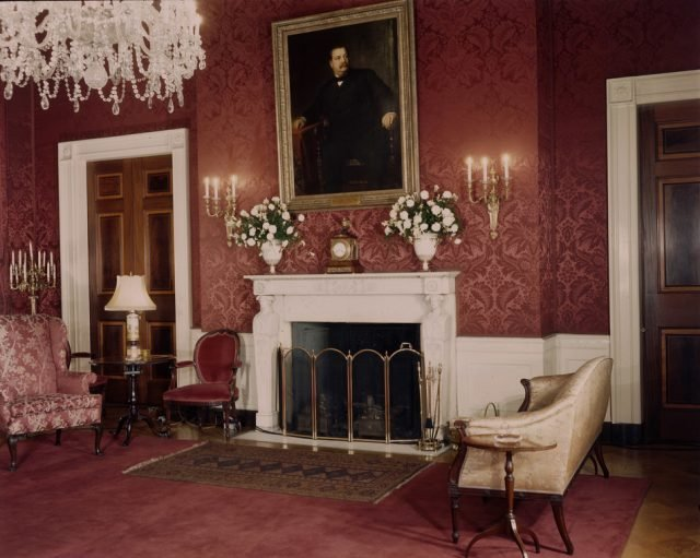 The White House Red Room - Picryl