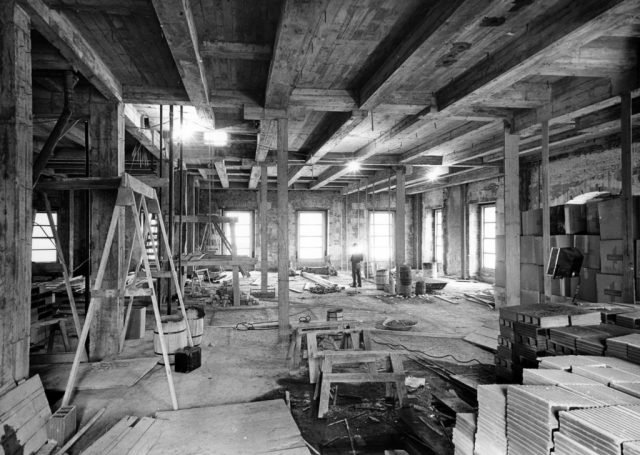 The White House Renovation Lincoln Room - Picryl