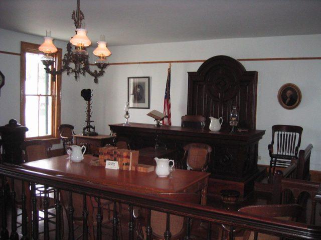 Whaley House Court Room - David & Karyn via flickr CC BY-2.0