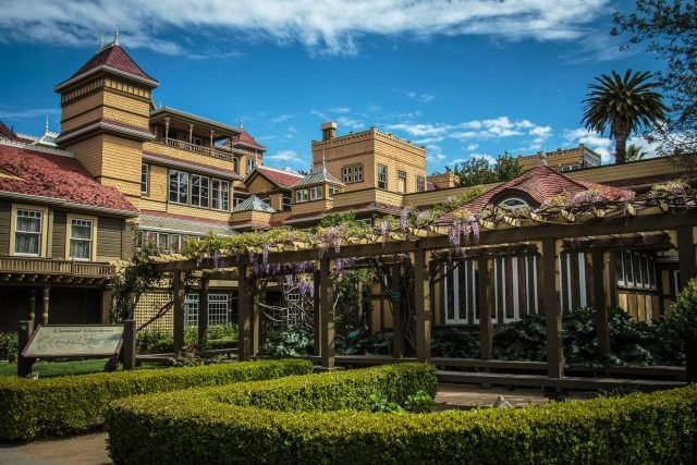 Winchester Mystery House Central Courtyard - presskit