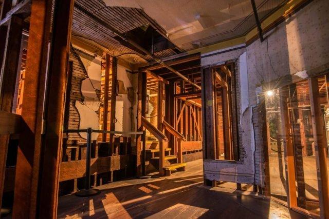 Winchester Mystery House entrance attic - presskit