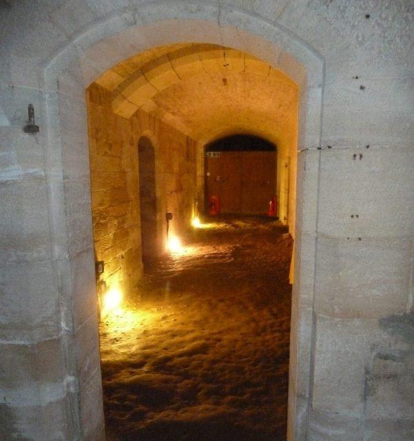Woodchester Mansion cellars -Rob Farrow via Geograph.org.uk CC BY-SA 2.0
